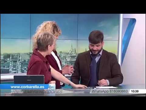 "Corbarella ""Telemadrid"" con Inmaculada Galván"