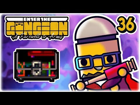 Glitched Chest | Part 36 | Let's Play: Enter the Gungeon: Farewell to Arms | PC Gameplay