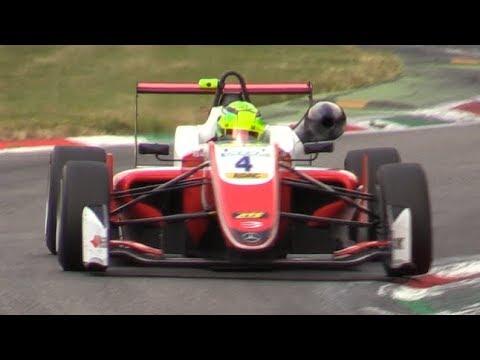 Prema Powerteam Dallara-Mercedes F312 F3 2018 Testing at Monza Circuit