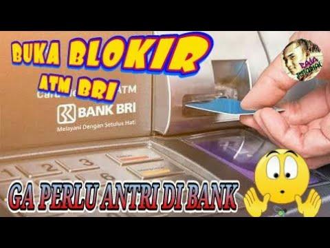 BEGINI• CARA MEMBUKA BLOKIR KARTU ATM BRI TANPA ANTRI KE BANK BRI