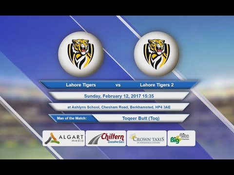 Video Lahore Tigers VS Lahore Tigers 2 - 12-Feb-2017