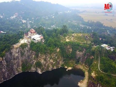 Thiền viện Trúc Lâm An Giang nhìn từ trên cao