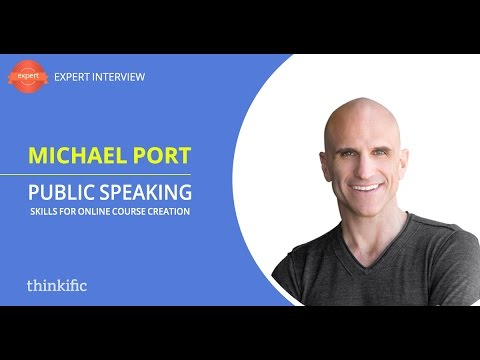 Public Speaking Skills & Online Course Creation | Interview with ...