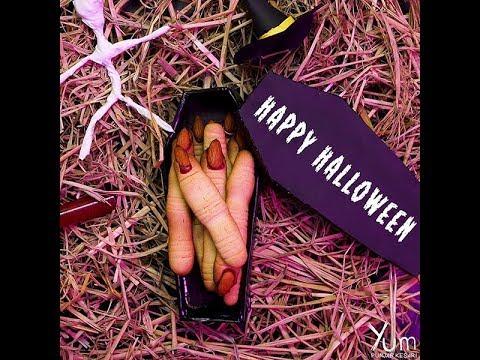 Spooky Witch Finger Cookies | Halloween Finger Cookies Recipe | witch finger cookies recipe
