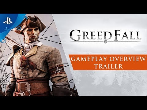 GreedFall - Gameplay Overview Trailer | PS4 thumbnail