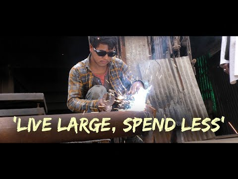 'Live large, spend less'