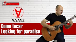 Looking for paradise - Alejandro Sanz y Alicia Keys Tutorial para guitarra