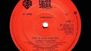 Jomanda Got a love for you Hurley's dub mix