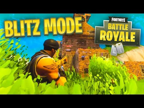 *NEW* BLITZ MODE in Fortnite Battle Royale