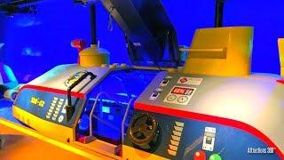 [4K] NEW Submarine Ride at Legoland California -  Deep Sea Adventure Submarine Ride