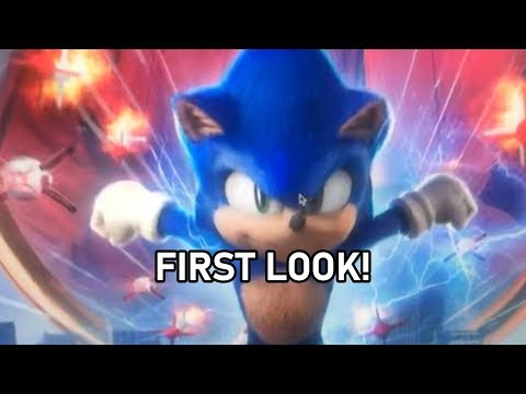 Sonic Movie Redesign LEAKED FIRST LOOK