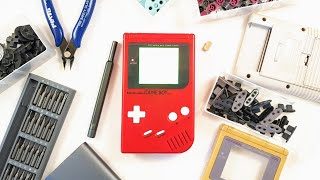 Building A Modded GameBoy From Scratch!