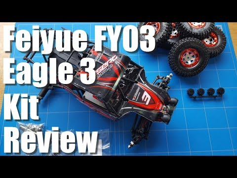 Feiyue FY03 Eagle 3 Kit Review a Fast Rc Rock Crawler