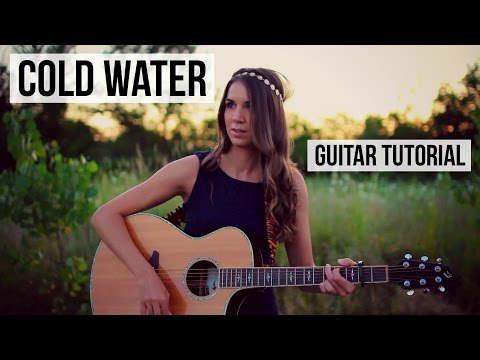 Guitar Chords With Strumming Patterns Cold Water Major Lazer