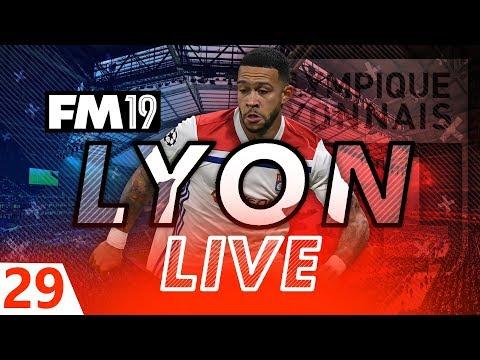 Football Manager 2019 | Lyon Live #29: £60m BID DILEMMA! #FM19