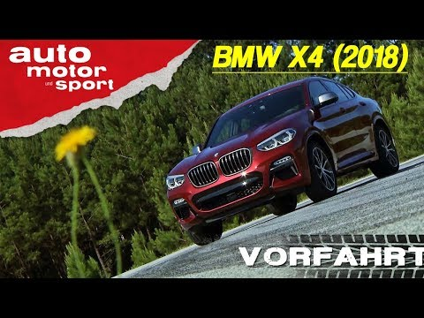 BMW X4 (2018): Ist das SUV-Coupé jetzt massenkompatibel? – Vorfahrt/Review| auto motor & sport