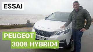 Essai PEUGEOT 3008 Hybrid4 : le SUV premium à la française