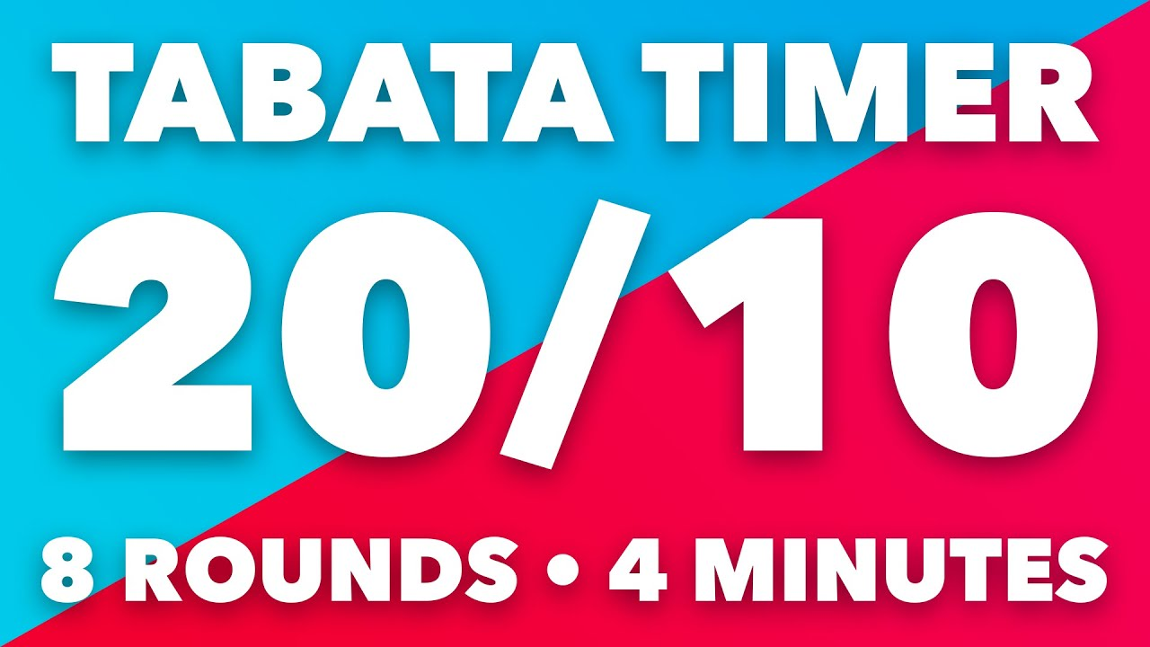 Tabata Timer with Voice