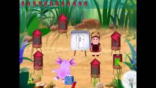 Лунтик учит буквы - 6 серия Игры бесплатно для детей