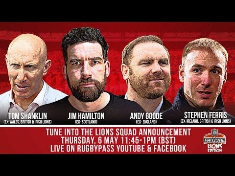 Lions Tour 2021 Squad Announcement | Live Reaction | Fan Zone Lions Edition | RugbyPass