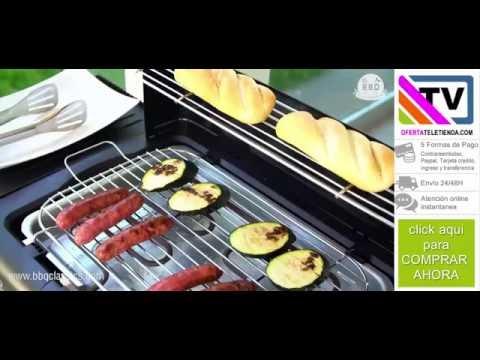 BARBACOA ELÉCTRICA CON PATAS BBQ CLASSICS YR4