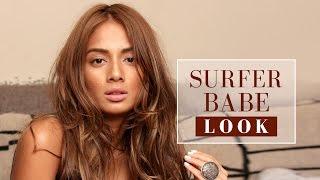 Surfer Babe Look   Beach Makeup Tutorial