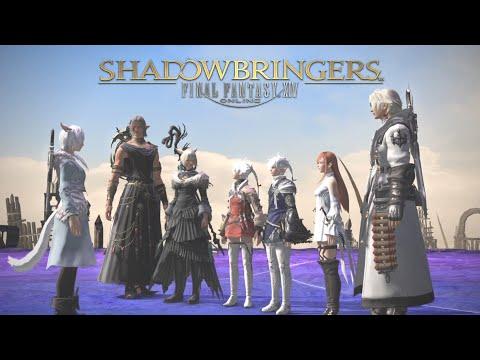 """Shadowbringers"" + ""Who Brings Shadow"" + ""Invincible"" + ""Tomorrow and Tomorrow"" FFXIV LYRIC VIDEO"