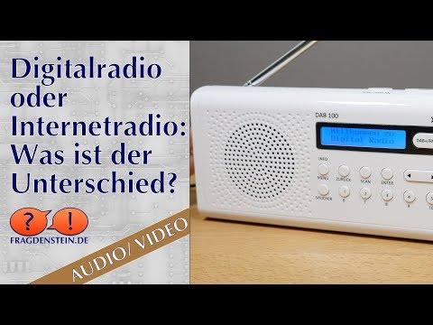 Digitalradio oder Internetradio - was ist der Unterschied?