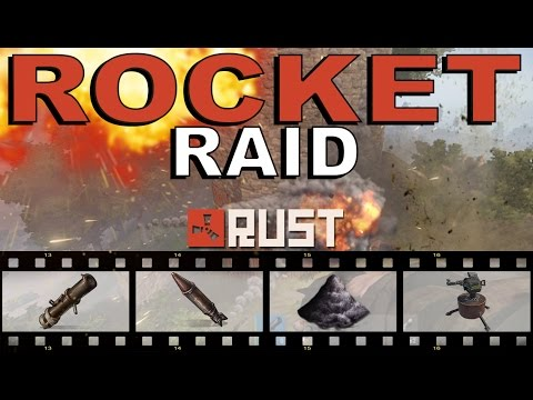 RAW RUST: WE ROCKET RAIDED SOME GUY! - Episode 3