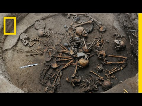 Pre-Aztec Skeletons Found Arranged in Spiral Shape | National Geographic