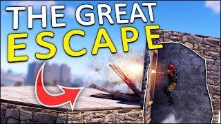 THE GREAT ESCAPE! - Rust Solo #3