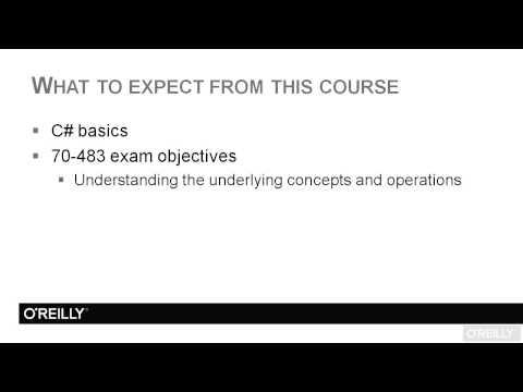 Programming in Microsoft C# - Exam 70-483 Tutorial | What To ...