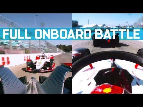 Wehrlein Vs Bird In Santiago - Full Onboard Battle & Complete Team Radio