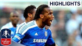 Tottenham 1-5 Chelsea - Drogba, Mata, Bale, Ramires, Lampard, Malouda | Official FA Cup highlights