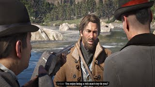 Red Dead Redemption 2 - Fishing With Jack Marston & Meeting Agents Milton & Ross (PS4 Pro)