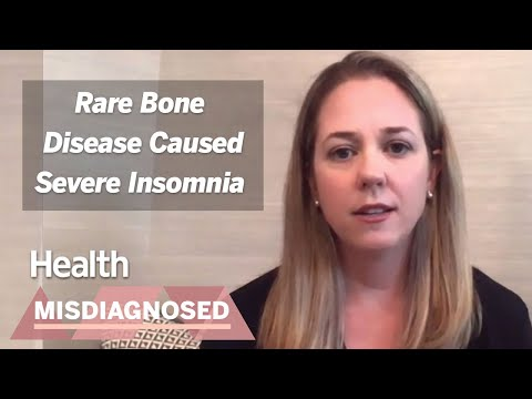My Severe Insomnia Turned Out to Be a Rare Disorder called Hypophosphatasia | Misdiagnosed | Health