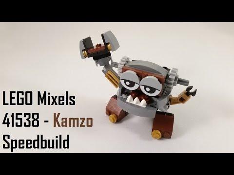 Vidéo LEGO Mixels 41538 : Kamzo