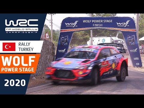WRC ラリー・ターキー(トルコ)。パワーステージの様子をダイジェストで楽しめるハイライト動画