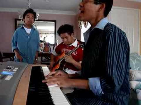 """Right Here Waiting"" (Cover) ft. Albert Posis & Caton Del Rosario – Richard Marx"