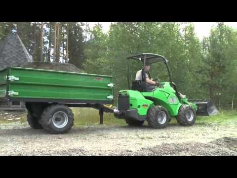 Avant Tilhenger - film på YouTube