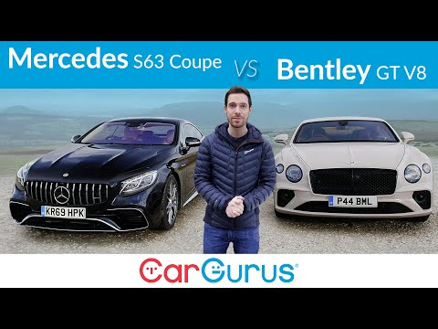 Mercedes-AMG S63 Coupe vs Bentley Continental GT V8: Finding the world's best GT car | CarGurus UK