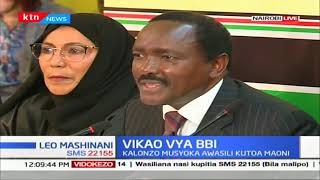 Kalonzo presents Wiper\'s recommendation to BBI task-force,wants nominated MPs increased to 20