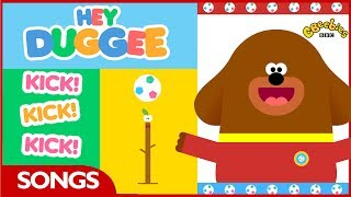 Hey Duggee | World Cup Kick Song | CBeebies