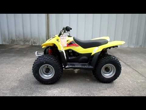 2017 Suzuki QuadSport Z50 in Greenville, North Carolina