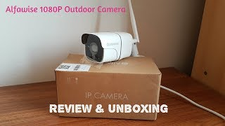 Alfawise Wireless 1080P Outdoor IP Camera CCTV | Review & Unboxing