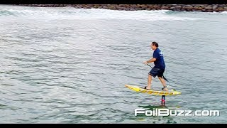Foil Buzz Pro Tips:  Dave Kalama, How to Paddle when up on the foil.
