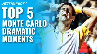 Top 5 Dramatic Tennis Moments from Monte Carlo ????