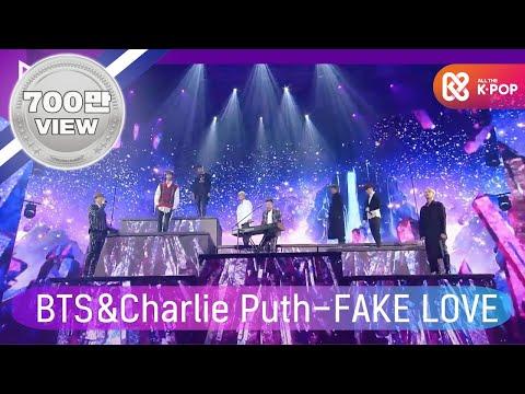 2018 Mga 찰리 푸스charlie Puth X 방탄소년단bts Fake Love