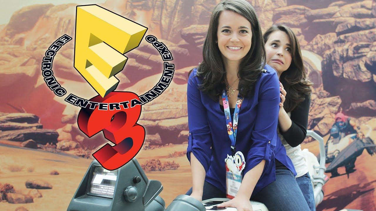 Ro & Mo Attend E3! - Sister Vlog thumbnail