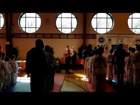 Scott - 2018 National Anthem at International Taekwon-Do Tournament